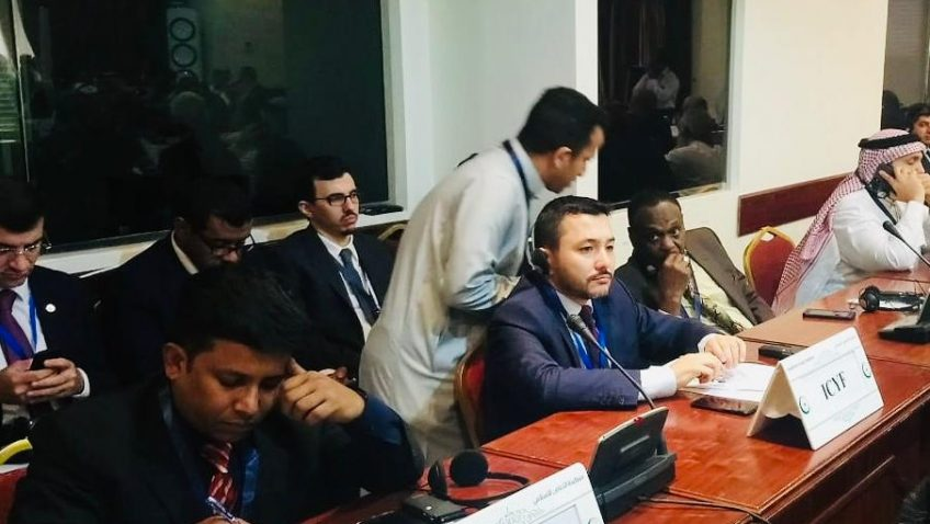 ICYF President Taha Ayhan attends ICECS in Jeddah